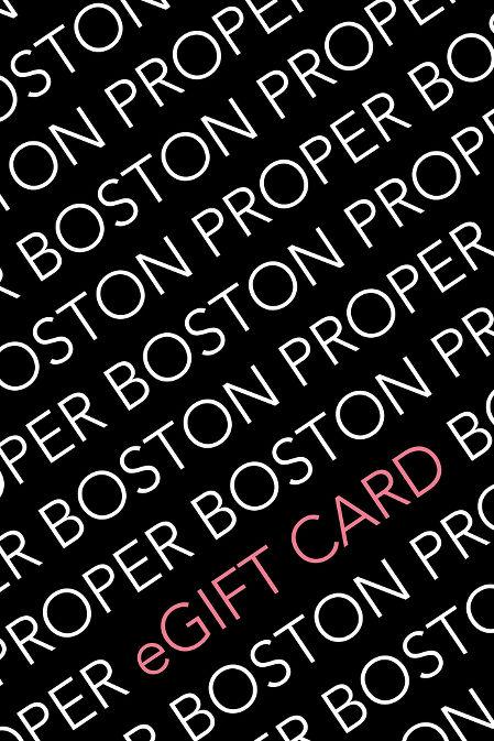 Boston Proper Gift Card image