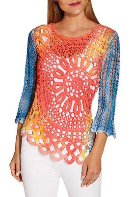 Daring Crochet Sweater