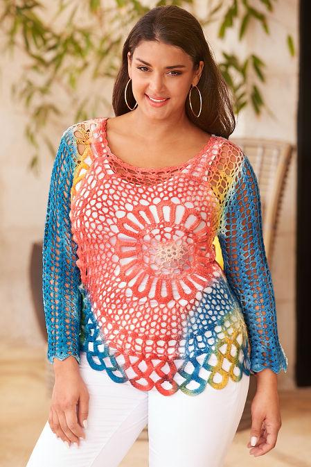 Daring Crochet Sweater image