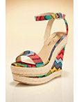 Multicolor Chevron Wedge Photo