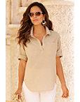 Linen Pullover Shirt Photo