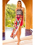 Pinwheel Maxi Dress Photo