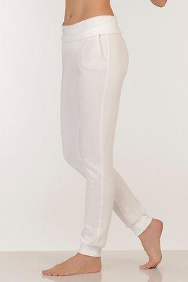 Rollover waistband pant