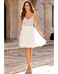 Sleeveless Beaded Dress Photo