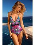 Bali Batik One-piece Swimsuit Photo