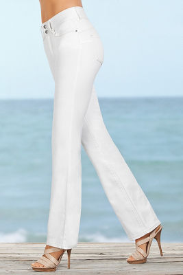 All the Right Curves Slim Boot-Cut