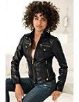 Chic Leather Jacket Photo