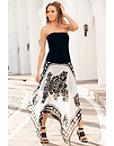 Strapless Handkerchief Dress Photo