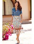 Aztec Fringe Skirt Photo