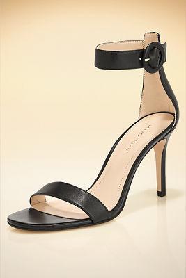 Easy ankle strap heel
