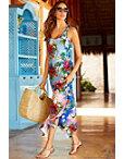 Hibiscus Maxi Dress Photo