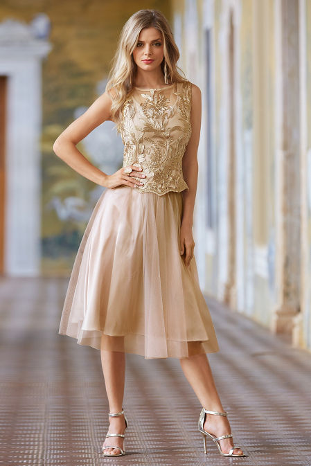 Tulle a-line skirt image