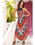 Tropic Chevron Dress Photo