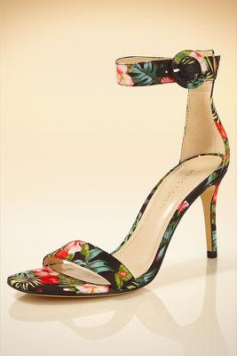 Easy ankle-strap heel