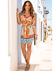 Printed Shirtdress Photo