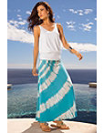 Sparkle Tie-dye Maxi Skirt Photo