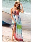 Multi Tie-dye Maxi Dress Photo