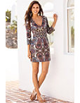 Paisley Scuba Dress Photo
