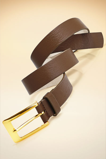 Proper buckle belt image