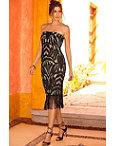 Strapless Fringe Dress Photo