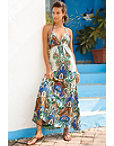 Jame Print Maxi Dress Photo