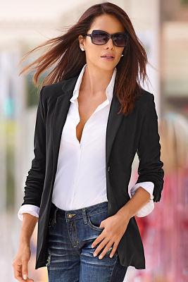 Travel boyfriend blazer