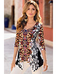 Aztec Tunic Top Photo