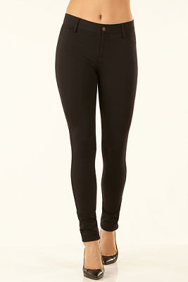 Ponte five-pocket legging