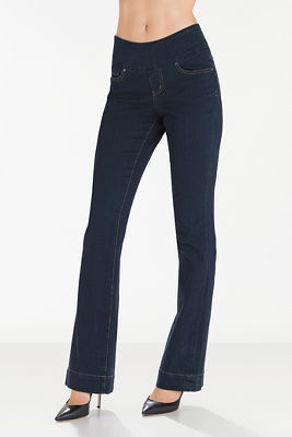 Paley boot-cut pull-on jean