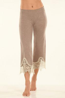 Lace sweatpants