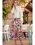 Camo Rose Maxi Skirt Photo