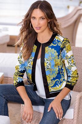 Royal scroll jacket