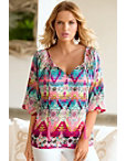 Southwest Tassel Blouse Photo