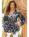 Magical Butterfly Tunic Top Photo