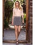 Circle Beaded Mini Skirt Photo