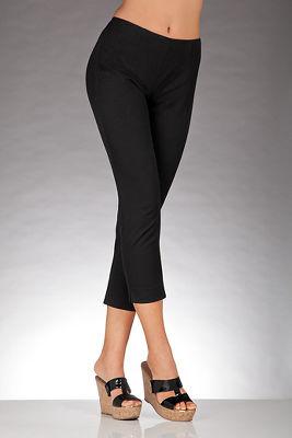 Slim & Shape side-zip crop pant
