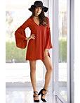 Bell-sleeve Dress Photo
