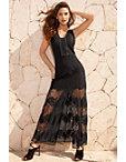 Lace Illusion Maxi Dress Photo
