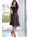 Lace Midi Skirt Photo