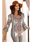 Moroccan Flower Blouse Photo