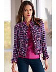 Purple Tweed Jacket Photo