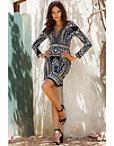Embellished Lace-up Dress Photo