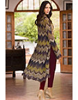 Chevron Sweater Duster Photo