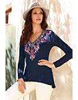 Embroidered Tunic Top Photo