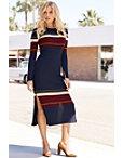 Colorblock Sweater Dress Photo