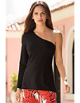 Travel One Shoulder Tunic Top Photo
