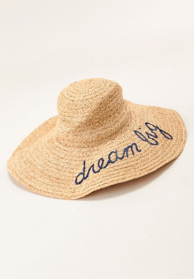 Dream big floppy hat