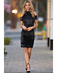Cold Shoulder Sequin Dress Photo