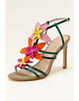 Floral Strappy Sandal Photo