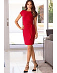 Solid Knot Sheath Dress Photo